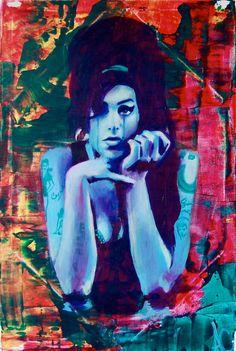 My dear amy Art Prints For Sale, Wall Art Prints, Fine Art Prints, Pop Art Music, Arte Pop, Amy Winehouse, Colorful Wallpaper, Line Art, Artsy