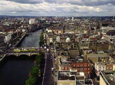 Liffey River, Dublin, Ireland.