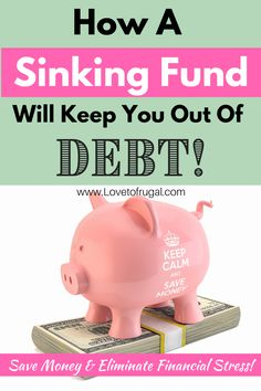 One of the best tools that you can have in your arsenal for budgeting and saving is a Sinking Fund. A Sinking Fund is a tool that you can use to prepare yourself and your budget for planned expenses. They will help you save money and stay out of debt. #sinkingfund #financialpreparedness #personalfinance Financial Quotes, Financial Tips, Budgeting Finances, Budgeting Tips, Ways To Save Money, Money Saving Tips, Sinking Funds, Paying Off Student Loans, Paying Off Credit Cards