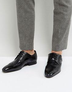 228750879 Ted Baker Oakke Hi Shine Brogue Shoes