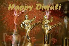 Happy Diwali martial arts poster