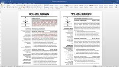A Good Resume Classy Professional Resume Template Instant Download Modern Resume Template .