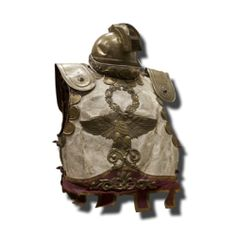 Traje de soldado romano antiguo Objetos con encanto antiguos y nuevos