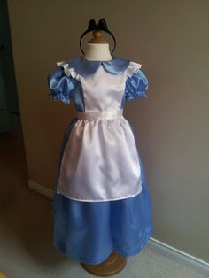 Alice in Wonderland #Inspired #costume play dress Size Girls 8  #READY To SHIP,  View more on the LINK: 	http://www.zeppy.io/product/gb/3/162767123/