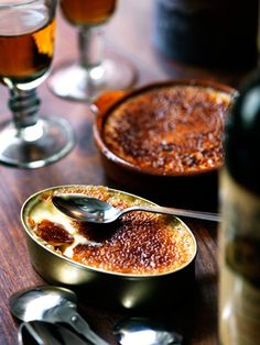 Crème Brûlée.. I can almost hear the crack of the toffee