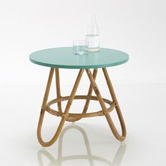 Image KOK Rattan Bedside Table or Occasional Table La Redoute Interieurs