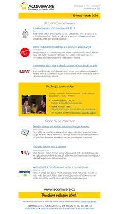 E-feed - leden 2014