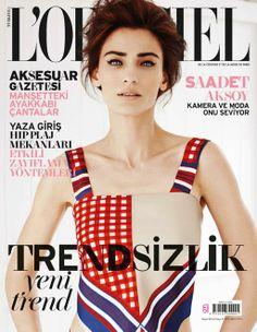 Saadet Aksoy'lu L'Officiel Türkiye Mayıs sayısı bayilerde!