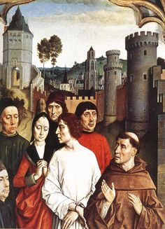 (Flanders) Bouts, Dieric the Elder~The Execution of the Innocent Count Circa 1460 Detail A