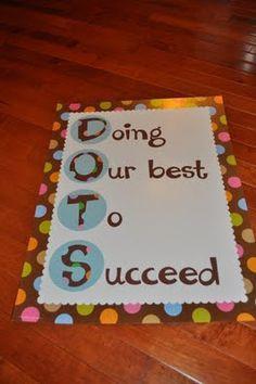 Cute ideas for polka dot theme
