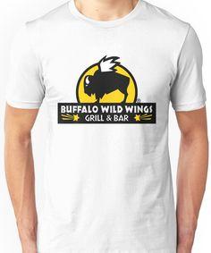 7363753ac buffalo wild wings Unisex T-Shirt Buffalo Wild Wings, Classic T Shirts, V