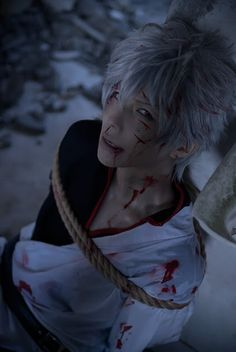Cosplayer - kuryu  Gintoki Sakata  of Gintama