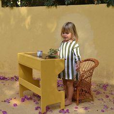 Wooden desk #macarenabilbao