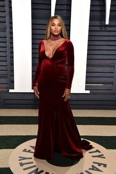 Ciara in Jovani - 2017 Vanity Fair Oscars after party
