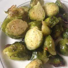 Roasted Brussels sprouts can positively influence your body's detox system, antioxidant system, and inflammatory system with their vast array of antioxidants, and vitamins.