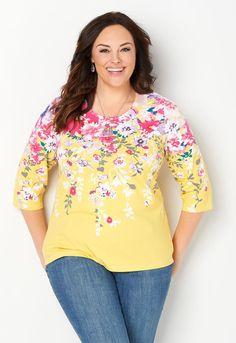 e12020c9 Perfect Pointelle Detail Plus Size Cardigan Sweater - CBK Web Store