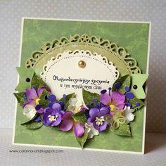 COLORINA: W zieleni i fioletach