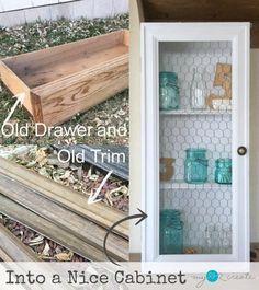 Transformation DIY d'un tiroir en étagère
