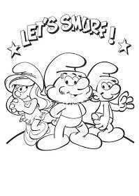 Desenhos Para Colorir Dos Smurfs Imagens Para Imprimir