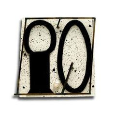 """Ramon Puig Cuyas - """"Ille out ille"""" (2007), brooch. Silver, nickel silver, plastic, enamel, pearl, acrylic paint."""