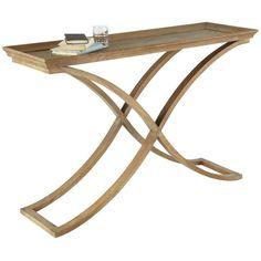 OKA Avignon Weathered Oak Console Table