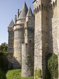 Vitre Castle, Brittany, France