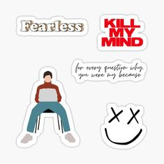 Meme Stickers, Tumblr Stickers, Phone Stickers, Printable Stickers, One Direction Tattoos, One Direction Drawings, One Direction Quotes, Harry Styles Dibujo, Harry Styles Drawing