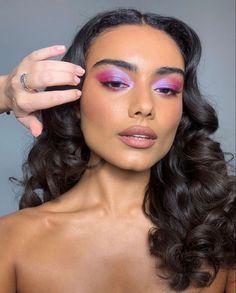 Glam Makeup, Cute Makeup, Pretty Makeup, Beauty Makeup, Hair Beauty, Makeup Eye Looks, Eye Makeup Art, Skin Makeup, Makeup Trends