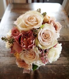 Wedding Bouquets Round Pink New Ideas Purple Wedding Bouquets, Pink Bouquet, Floral Wedding, Diy Wedding, Wedding Colors, Romantic Flowers, Bridal Flowers, Pretty Flowers, Disney Wedding Dresses