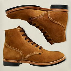 bcfe2129063 Double RL Boondocker Suede Boot Adventure Boots, Pictures Of Shoes, Sports  Footwear, Men's