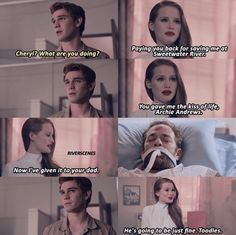 """Riverdale 2x01 """"Chapter Fourteen: A Kiss Before Dying"""""""