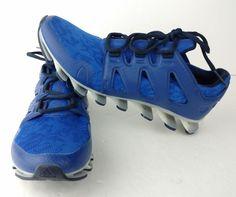 228b05152d64 ... best price mens authentic adidas springblade pro 6 running shoes blue  size us 7.5 adidas runningcrosstraining