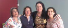 Josephine, Ana, Paloma y Marián