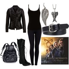 """Shadowhunter Gear"" by choneycutt1999 on Polyvore"