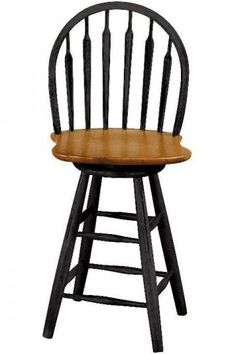 Windsor Arrow Backed Swivel Counter Stool - Kitchen Stools - Counter Stools | HomeDecorators.com