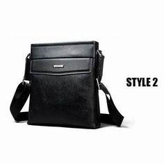 High Quality Genuine Leather Men's Messenger Bag