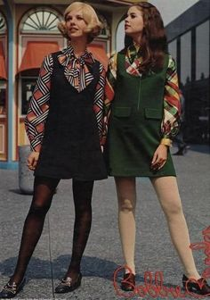 made in the sixties - Fashion Moda 2019 60s And 70s Fashion, Fashion Mode, Trendy Fashion, Fashion Trends, Dress Fashion, Fashion Vintage, 1960s Fashion Women, 60s Inspired Fashion, Fashion Ideas