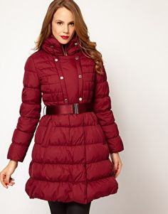 Karen Millen Signature Padded Coat