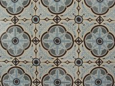 Portugese tegels FLOWERZ 8, encaustic floor tiles, cement tiles. Collection: FLOORZ