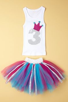Brookie Jos Crown Tutu Set -- Perfect for my Incoming 3 year Old kiddo