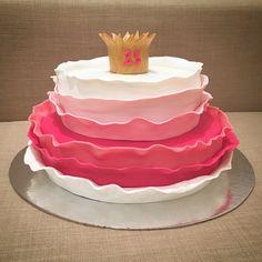 Princess Cake, ruffles