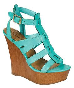 This Breckelle's Seafoam Green Carina Wedge by Breckelle's is perfect! #zulilyfinds