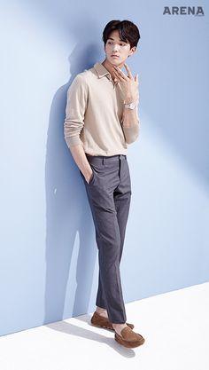 The Best Examples for Korean Street Fashion Korean Fashion Men, Korean Street Fashion, Korea Fashion, Korean Men, Boy Fashion, Korean Style, Fashion Outfits, Older Mens Hairstyles, Cute Korean Boys