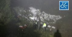 Image result for Colombia plane crash: 76 killed, 5 survivors from plane carrying Chapecoense footballer