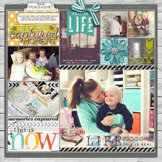 #ProjectLife page by Kayleigh #shopDesignerDigitals