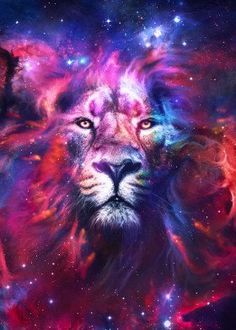 """Beautiful """"Lion Nebula"""" metal poster created by . Our Displate metal prints will make your walls awesome."""