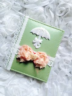 A personal favorite from my Etsy shop https://www.etsy.com/listing/246700263/baby-girl-photo-album-shabby-chic-album