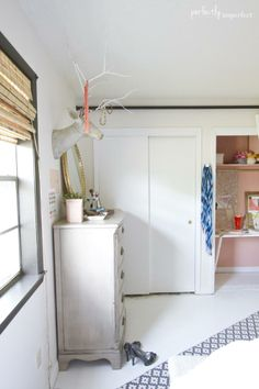 double closets - after (Julie's Room Reveal | perfectly imperfect)