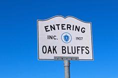 Oak Bluffs Sign