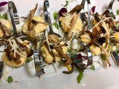 Wild Mushrooms Polenta & Pecorino!